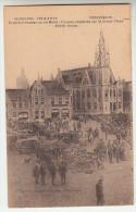 Poperinge, Poperinghe, Engelsche troepen op de markt (pk22429)