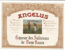 ETIQUETTE ANGELUS  LIQUEUR DES SALESIENS - Sin Clasificación