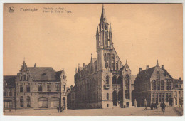 Poperinge, Poperinghe, Stadhuis En Post (pk22432) - Poperinge