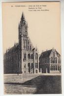 Poperinge, Poperinghe, Stadhuis en Post (pk22433)