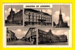 GROETEN UIT LEDEBERG = GENT Uitgave : Van Holsbeke , Hundelgemsestraat 458 ---      4110 - Gent