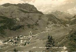 Austria - Autriche - Vorarlberg - Zürs A. A. 1720 M Gegen Omeshorn - Semi Moderne Grand Format - 2 Scans - état - Zürs