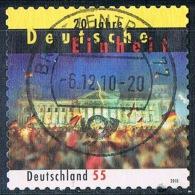 2010  20 Jahre Deutsche Einheit (selbstklebend) - [7] Federal Republic