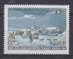 Chile 1981 Antarctica / Base Teniente Marsh 1v ** Mnh (24086) - Chili