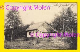 UNE CHAUMIERE Te GENCK = KLEIN HUISJE GENK * Edition Maison Stulens , Genck * In 1907 Verzonden   Boerderij 3986 - Genk