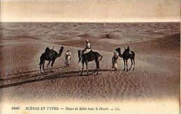 Afrique Du Nord     125     Dunes De Sable Dans Le Désert - Cartes Postales