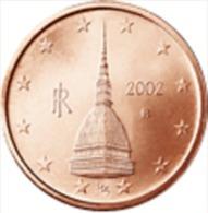 Italie 2008     2 Cent   UNC Uit De Rol  UNC Du Rouleaux  !! - Italie