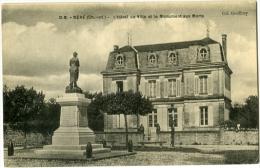 NERE L'Hotel De Villeet Le Monument Aux Morts - Autres Communes