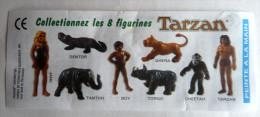 RARE NOTICE SCHWIND TARZAN  1997 Pas KINDER - Notices