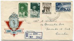 ANTARCTIQUE AUSTRALIEN LETTRE DEPART WILKES 13 FE 60 POUR LE CANADA - Lettres & Documents