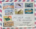 COTE FRANCAISE DES SOMALIS LETTRE RECOMMANDEE PAR AVION DEPART DJIBOUTI  21-9-1962 POUR LA FRANCE - Lettres & Documents