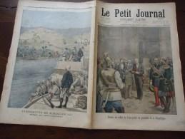 Du 30 Juin 1895 - Le Petit Journal Supplément Illustré - Madagascar, Prise De Mevatanana - Remise Du Collier De Saint-An - 1850 - 1899