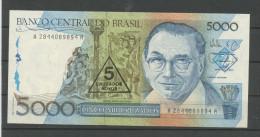 BRÉSIL: 5000 CRUZADOS - NEUF - Brazil