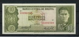 BOLIVIE : 10 PESOS NEUF - Bolivia