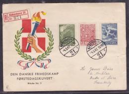 Danemark - Lettre - Danimarca