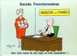 ALEXANDRE  SACRES FONCTIONNAIRE    -  CPM 1970 / 80 - Alexandre