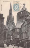 [22] Côtes D'Armor GUINGAMP La Rue Notre Dame  (A) (pharmacie Centrale)-(Collection Villard Quimper  N ° 2523)*PRIX FIXE - Guingamp