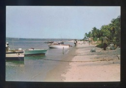 Luanda *Praia Balnear...* Ed. CITA. Escrita. - Angola