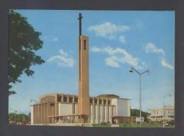 Luanda *Igreja De Sagrada Familia* Ed. Foto-Polo Nº 3. Escrita. - Angola
