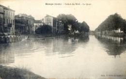 Homps - Canal Du Midi - Le Quai - France
