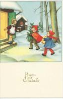 CP  Buon Natale  Enfants - Non Classés