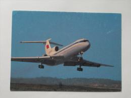 Plane TU 154 - 1946-....: Moderne