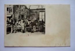 Carte Précurseur GRAY (70) - LE MARCHE Animé - Street Merchants