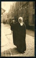 "CPA S/w AK Belgien Bruges/Brugge 1917 Allemagne Feldpost""Brugge-Brugeoise,belebt,Straßenbild "" 1 AK Used,bef. - Genealogie"
