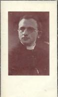 Doodsprentje Priester Leraar Pamphiel Vermeulen - St Jan Ieper 1914 - Brugge - Moeskroen - Ongeval 1953 - Obituary Notices