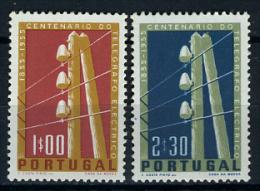 1955 - PORTOGALLO - PORTUGAL - Michel Nr.. 844/45 - NH - (X20082015...) - 1910 - ... Repubblica