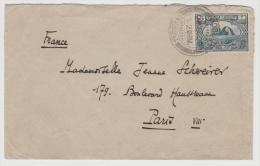 Mes022/ Babylon 1924 Nach Paris (Brief, Cover, Lettre) - Irak