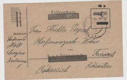 Yu099/ Provisorium Aus Sarajevo Nach Kärnten 1920 - 1919-1929 Königreich Der Serben, Kroaten & Slowenen