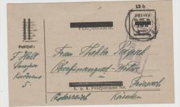 Yu101    JUGOSLAWIEN - Provisorium Aus Sarajevo Nach Friesach (Kärnten)  1920, Zensiert - 1919-1929 Königreich Der Serben, Kroaten & Slowenen