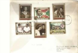 CARTA CIRCULADA  SEND POST   TBE OHL - Burundi