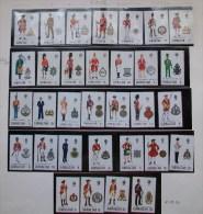 """E102- GIBILTERRA - 1969/76 - """" Serie Uniformi 32 Valori Annate Complete Dal 1969 Al 1976 """" MNH Nuovi - Gibraltar"""