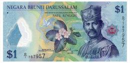 BRUNEI 1 RINGGIT 2011 Pick 35 Unc - Brunei