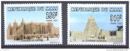 Mali YT N°826/827 Mosquées Maliennes Neuf ** - Mali (1959-...)
