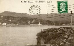 LA COTE D´AZUR - BANDOL -83- LA JETEE - Bandol
