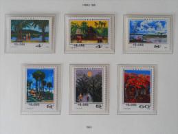 PAYSAGES DE XISHUANG BANNA 1981 - NEUFS ** - YT 2388/93 - MI 1659/54 - 1949 - ... Repubblica Popolare