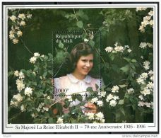 Mali, BF N° 46** Y Et T, Bloc Feuillet, Elizabeth II - Mali (1959-...)