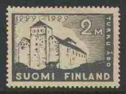 Finland Suomi 1929 Mi 142 YT 138 * MH - Castle Of Turku / Schloss / Château / Kasteel - Kastelen