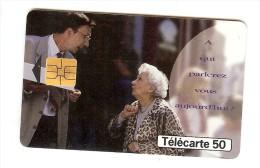 TELECARTE 50  A QUI PARLEREZ-VOUS MAINTENANT ? - Télécartes