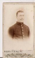 PHOTO PETIT FORMAT MILITAIRE MONTPELLIER (34) 1909 - War, Military