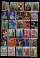 VATICANO  Lotto 30 Francobolli  MNH - Collezioni