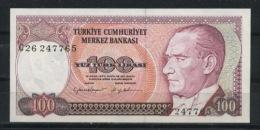 TURQUIE : 100 LIRA - NEUF - Turkey