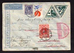 Special Flight 'de SNIP' To Surinam 1934 (Ned H12) - Periodo 1891 – 1948 (Wilhelmina)