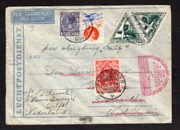 Special Flight 'de SNIP' To Surinam 1934 (Ned H12) - 1891-1948 (Wilhelmine)