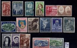 VATICANO LOTTO  17 Francobolli  Usati / Used - Collections