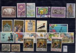 VATICANO LOTTO  21  Francobolli  Usati / Used - Collections