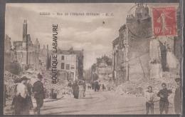 59 - LILLE - Rue De L'Hopital Militaire--animé--WW1 - Lille
